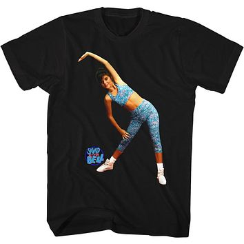 Saved by the Bell Aerobics Tee Shirt