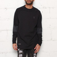 Rudimental Paneled Terry Jersey Black