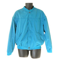 Men Windbreaker Jacket 80s Windbreaker 80s 90s Windbreaker Retro Windbreaker Men Bomber Jacket 90s Windbreak Men Light Jacket Blue Bomber