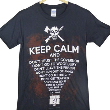 The Walking Dead T-Shirt - Keep Calm
