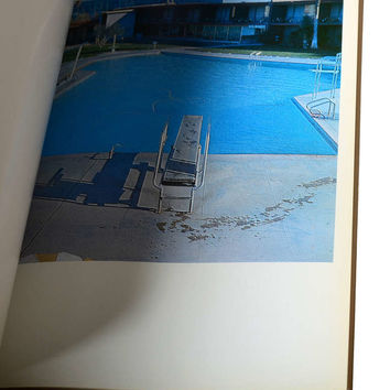 Ed Ruscha, Nine Swimming Pools (And A Broken Glass), 1968