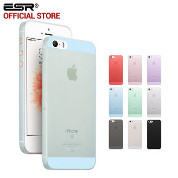 ESR Makeup Base Series case PP Matte Finish as the makeup base case for iPhone SE 5s 5 5se