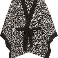 Equipment - Elias heart-print washed-silk robe
