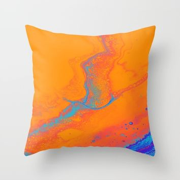 Dare You Throw Pillow by DuckyB
