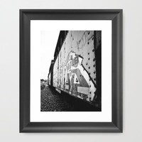 Train car graffiti  Framed Art Print by Vorona Photography | Society6