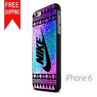 Nike Aztec Glitter KK iPhone 6 Case