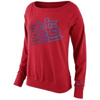 Nike St. Louis Cardinals Epic Dri-FIT Performance Sweatshirt - Women's, Size: