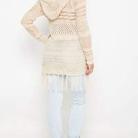 Open Knit Fringed Cardigan By Sadie Robertson x Wild Blue™ | Cardigans & Wraps | rue21