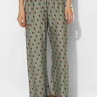Band Of Gypsies Border-Print Wide-Leg Pant - Urban Outfitters