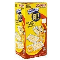 Ritz Handi Snacks Crackers 'n Cheese Dip - 30 SNACK PACKS of 0.95 oz