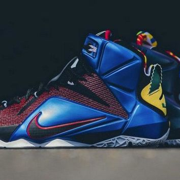 white casual shoes Lebron What the LeBron 12 SE Detail Image Brand sneaker