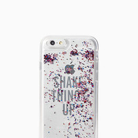 shake things up liquid glitter iphone 6 case