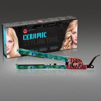 PYT Ceramic Pro Styling Tool, Peacock