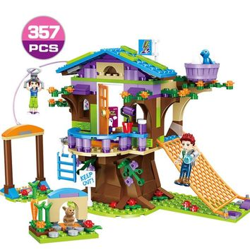 Friends Series Heart Lake City Mia's Tree House Building Blocks Set Compatible Legoings Friends Girls Toys Gift for Children