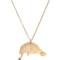 Man Oh Manatee Necklace | Mod Retro Vintage Necklaces | ModCloth.com