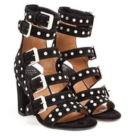 LAURENCE DACADE | Suede Studded Sandals with Five Straps | Browns fashion & designer clothes & clothing