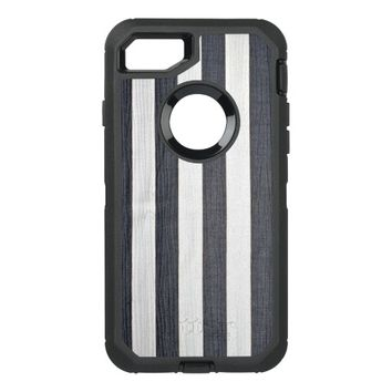 Stripes OtterBox Defender iPhone 7 Case