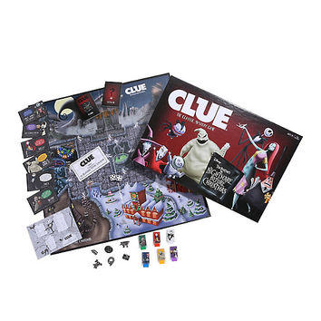 The Nightmare Before Christmas Edition Clue Board Game