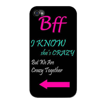 best friends bff in pairs right iPhone 4 4s 5 5s 5c 6 6s plus cases