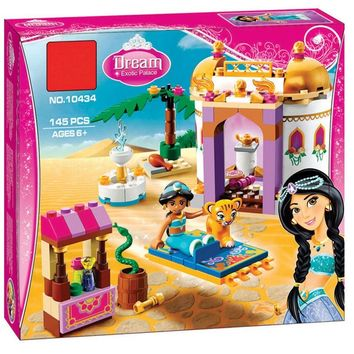 BELA 10434 Jasmine Princess Exotic Palace Building Blocks Toy For Children Gift Compatible LegoINGly Friends 41061 for Girl