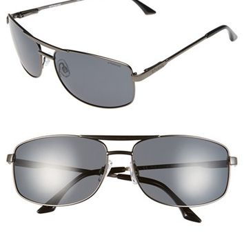 Women's Polaroid Eyewear 62mm Polarized Navigator Sunglasses
