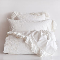 Ecru Embroidered Bedding | ZARA HOME United States of America