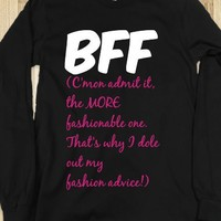 BFF - The More Fashionable One (Apparently!) - Connected Universe