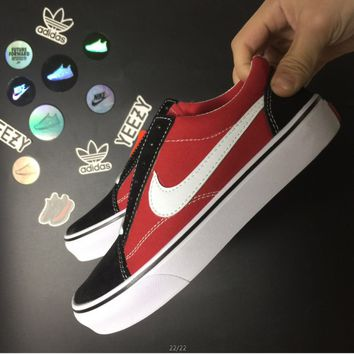 VANS-Nike Classic Canvas Old Skool Flats Sneakers Sport Shoes