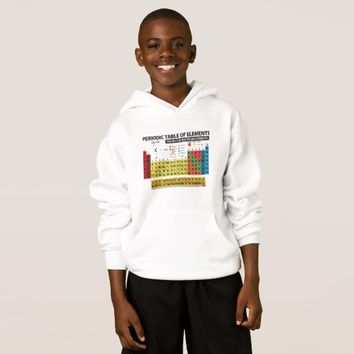 PERIODIC TABLE OF ELEMENTS - 2017 HOODIE