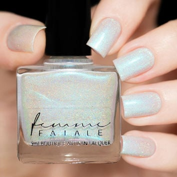 Femme Fatale Silent Snowfall Nail Polish (Silent Night Exclusive Collection)