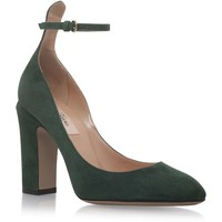 Valentino Tan Go Suede Court Shoes | Harrods