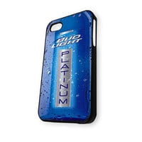 Bud Light Platinum Bottle iPhone 4/4S Case