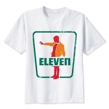 ca qiyif 7 Eleven Fashion O-Neck Top Tee