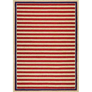 Couristan Covington Nautical Stripes Area Rug