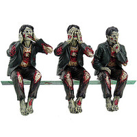 See, Hear, Speak No Evil Zombies