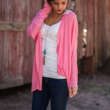 Hold Me Close Cardigan, Pink