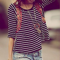 Free People  Celine Tee at Free People Clothing Boutique