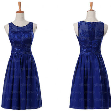 lace bridesmaid dress, royal blue bridesmaid dress, unique bridesmaid dresses, cheap bridesmaid dresses, affordable bridesmaid dress, dress