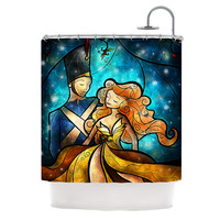 "Mandie Manzano ""Nutcracker"" Shower Curtain"