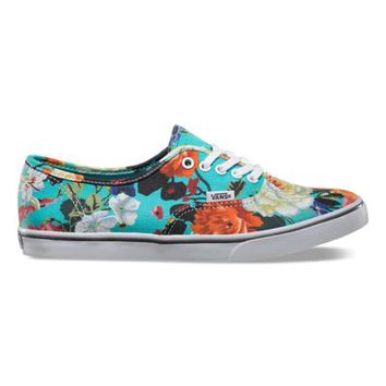 Vans Authentic Lo Pro Floral (smoked pearl/true white)