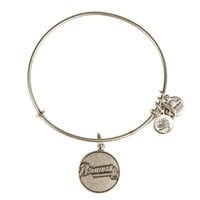 Alex and Ani Atlanta Braves™ Primary Logo Charm Bangle - Russian Silver