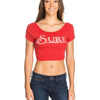 Roxy - Surf Cropped T-Shirt