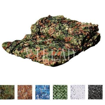 VILEAD 9 Colors 4M*7M Camouflage Netting Camo Net For Forest Pretend Exposure Hunting Military Training Outdoor Sun Shade Camp