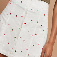 August Printed Mini Skirt