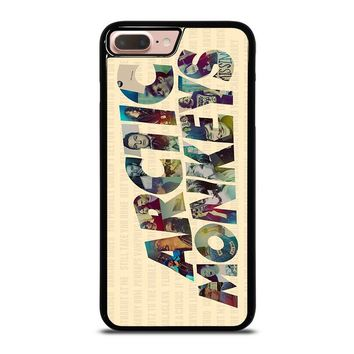 ARCTIC MONKEYS CHARACTERS iPhone 8 Plus Case Cover