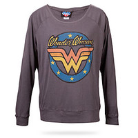 Wonder Woman Long Sleeve Off-the-Shoulder Tee