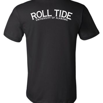 Official NCAA Venley University of Alabama Crimson Tide UA ROLL TIDE! Unisex T-Shirt - 35AL-2
