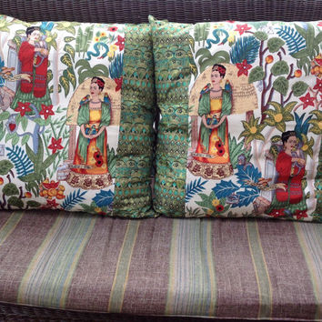 Custom Order for Lisa Anne Two 24 inch Frida Kahlo Pillow Covers