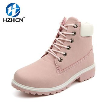 Women Fashion Martin Boots Casual Warm Fur Snow Boots Plus Size Leatherette Ankle Women Increased Shoes Camouflage Winter Boots