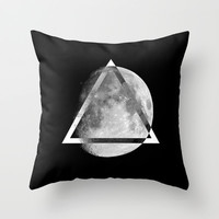 LUNAR SWAG  Throw Pillow by Maioriz Home